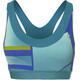 asics fuzeX Sports Bra Women green/blue